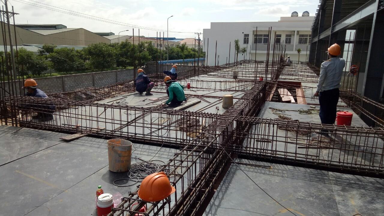 Thi công công trình Việt Hồ Tú